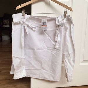 Brand New Michael Kors white shirt